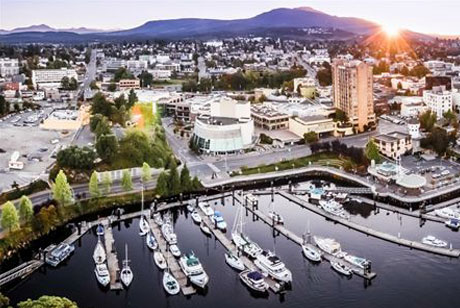 Til You Drop In Nanaimo S Downtown District