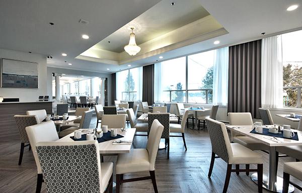 Dorchester Hotel Restaurant Menu Nanaimo